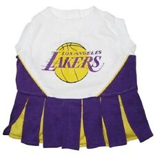 Los Angeles Lakers NBA LICENSED Dog Cheerleader Dress - All Sizes, xs, sm, md,
