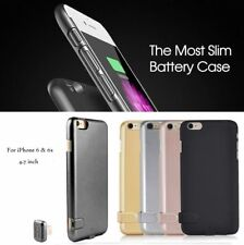 For iPhone 5/ 5s/ 6/ 6s plus/ 7 External Battery Charger Case Charging Cover