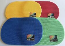"VINYL PLACEMATS Set of 4   ASSORTED COLORS AVAILABLE 12"" x 18"""