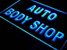 "16""x12"" i498-b Auto Body Shop Car Adv Ad NEW Neon Sign"
