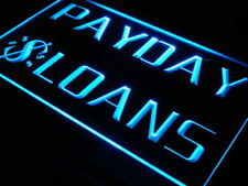 """16""""x12"""" i060-b Payday Loans Enseigne Lumineuse Wall Decor LED Neon Signs"""