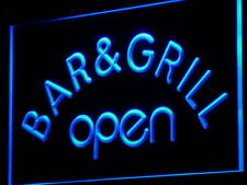 "16""x12"" i815-b Bar & Grill OPEN Beer Cafe Neon Sign"