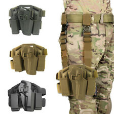 Adjustable Pistol Airsoft Drop Bag Puttee Leg Thigh Holster Belt Pouch Holder