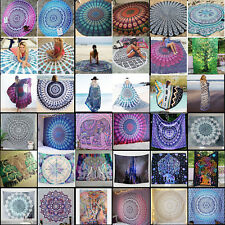 Indian Mandala tapestry hippie Hippy Ethnic wall hanging Bohemian dorm decor 3D