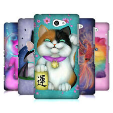 OFFICIAL ASH EVANS MAGICAL CREATURE HARD BACK CASE FOR SONY PHONES 4