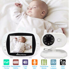 2.4GHz Wireless TFT LCD Audio Video Baby Monitor Night Vision Camera 2-Way Talk