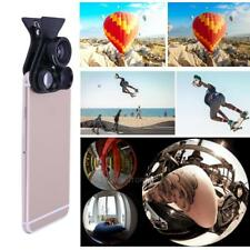 Professional Smart Phone External Microspur 360° Wide Angle Fisheye Dual Lens