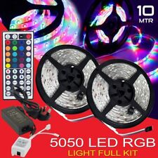 SmartLight 5M 300 LED Remote Adapter Flexible Light Strip 12V SMD 3528 5050