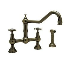 Rohl Perrin and Rowe Double Handle Athenian Kitchen Faucet with Lever Handle