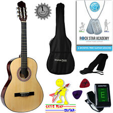Acoustic Guitar Package 3/4 Sized (36' inch) Nylon String Childs Guitar