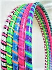 """INNASPIN WEIGHTED """"STRIPED"""" HULA HOOPS"""