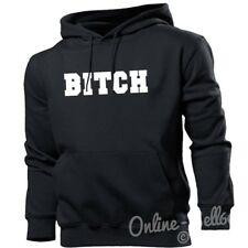 Bitch Funny Womens Hoodie Mens Hipster Naughty Hoody Offensive Swag Dope Boys