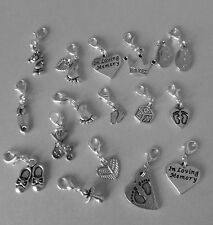 Baby themed clip on charms