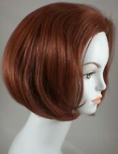 100% Human Hair ChinLength Bob Style Wig w/ No Bangs Lightweight, Breezy Cap