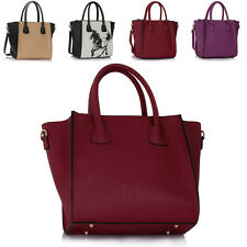 Celebrity Women Cross Body Tote Faux Leather Ladies Girls College Shoulder Bags