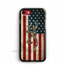 Amrican Flag iphone cases Browning Deer camo samsung galaxy case ipod cover