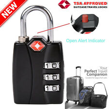 Suitcase Travel PadLock with TSA Approved Combination Luggage Bag Lock Locks