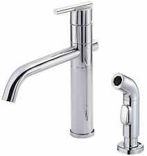 Danze® Parma Single Handle Deck Mounted Kitchen Faucet with Side Spray