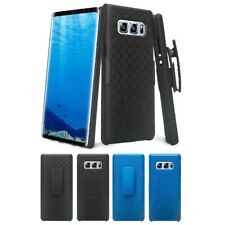 For Samsung Galaxy Note 8 Case Holster Belt Clip Combo Cover Kickstand View