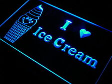 "16""x12"" s126-b Ice Cream Shop Cafe Bar Beer Neon Sign"
