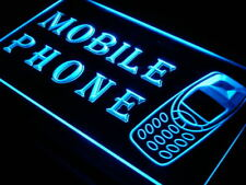 """16""""x12"""" i238-b MOBILE PHONE Services Repairs OPEN Light Sign"""