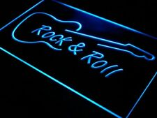 "16""x12"" i303-b Rock and Roll Guitar Music NEW Neon Sign"