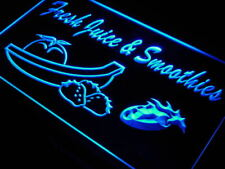 """16""""x12"""" j690-b Fresh Juice Smoothies Drink Cafe Neon Sign"""