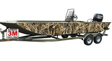 3M CAMO BOAT WRAP KIT DUCK HUNTING FISHING MULTIPLE BOAT SIZES 12ft - 27ft