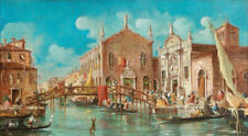 Venice Ltaly Classical Oil painting Modern Art Wall Home Decor Printed On Canvas