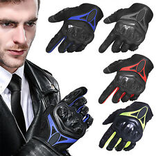 Motorcycle Bicycle Racing Riding Bike Protective Gloves Touch Screen Rubber SUP