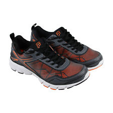 Fila Memory Granted Mens Gray Mesh Athletic Lace Up Running Shoes