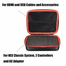 Carrying Storage Bag For Nintendo NES Classic Mini Console Case Travel Box VE