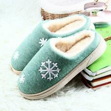Women Winter Warm Slippers Cotton Sheep Couple Shoes Home Indoor Plush Slippers