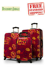 Heys USA IKAT HEARTS FUSCHIA 1 Piece Upright Spinner Luggage D1167