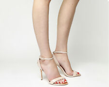 Womens Ted Baker Mirobell Strappy Heels NUDE PATENT LEATHER Heels