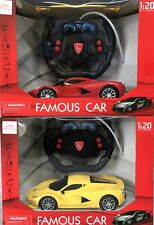 R/C RADIO CONTROL BATTERY OPERATED FULL FUNCTION FAMOUS RACING MODEL CAR TOY1:20