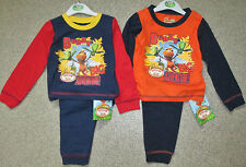 Boys Buddy Dinosaur Train Navy/Red or Navy/OrangeLong Pyjamas  12-18 & 18-24 MIF
