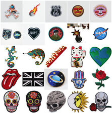 Embroidered Sew On / Iron On Patch Badges Bags Hat Jeans Jacket Applique Craft