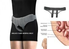Solace Care New Hernia Belt Support Truss Reducible Inguinal Extra REMOVABLE PAD