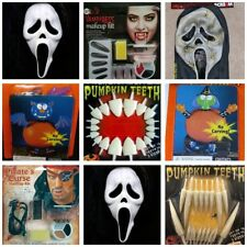 Halloween Decorations,Scream Masks, Makeup Kits, and Jack O' Lantern Kits!