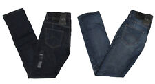 Armani Exchange A/X Mens J66 Low Rise Straight Leg Selvedge Jeans Pants New