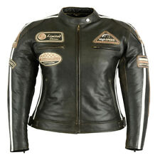 Women's Leather Jacket, Ladies Motorcycle Summer Jacket