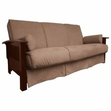 Brendan Perfect Sit & Sleep Mission-style Pillow Top Queen-size Sofa Bed
