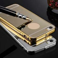 Luxury Aluminium Ultra-thin Mirror Metal Case Cover for iPhone 6 6s 4.7""