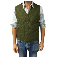 MANIFATTURA CECCARELLI vest man green mod 7910 100% cotton MADE IN ITALY