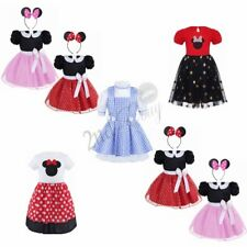 Girls Kid Halloween Minnie Mouse Ballet Tutu Tulle Costume Fancy Dress Skirt