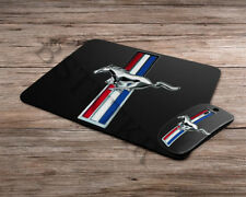 Ford Mustang logo emblem wireless computer optical mouse + mousepad mouse pad