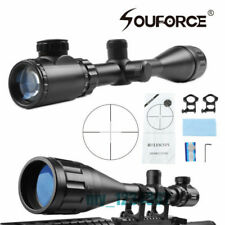USA Tactical 6-24x50 AOEG Optical Scope Red Green Reticle Dual illuminated Scope