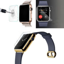 Case Cover For Full Protect Watch Clear Soft Tempered Glass+ Clear Apple 38/42mm