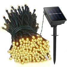 100/200/300/400/500 LED Garden Solar Powered Fairy String Lights Party Event E28